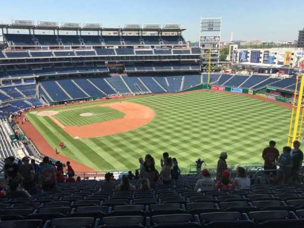 Nationals Park, section: 230, row: W, seat: 11