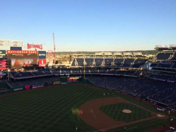 Nationals Park, section: 404, row: K, seat: 4