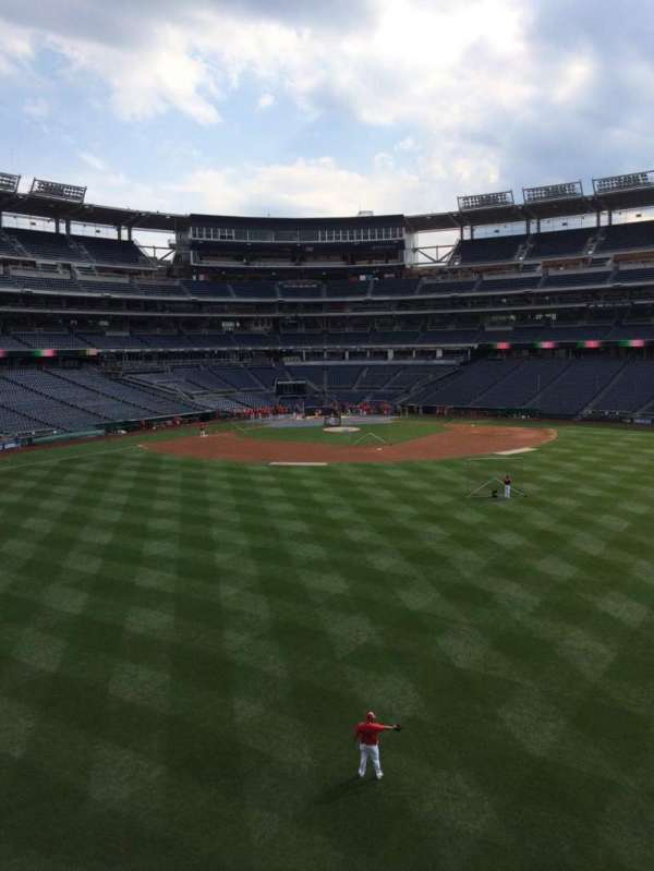 Nationals Park, section: 242, row: A