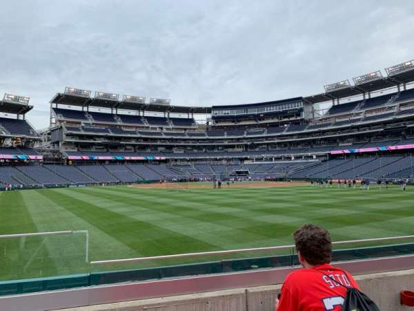 Nationals Park, section: 100, row: C, seat: 14