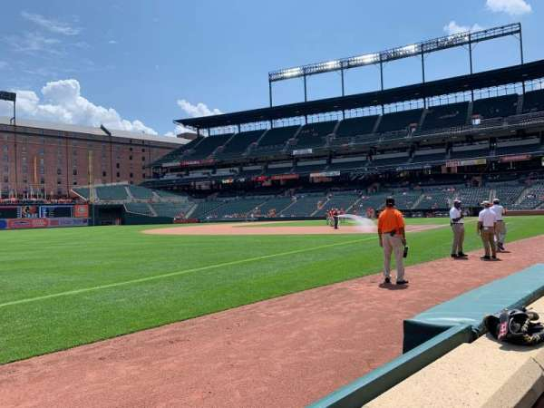 Oriole Park at Camden Yards, section: 64, row: 1, seat: 2