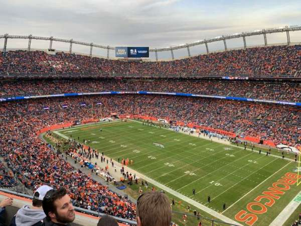 Empower Field at Mile High Stadium, section: 502, row: 3