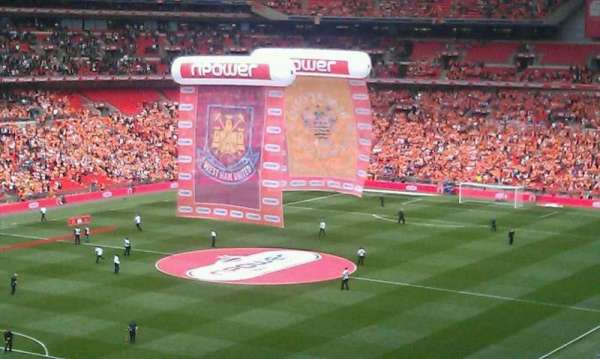 Wembley Stadium, section: Pitch View Restaurant West