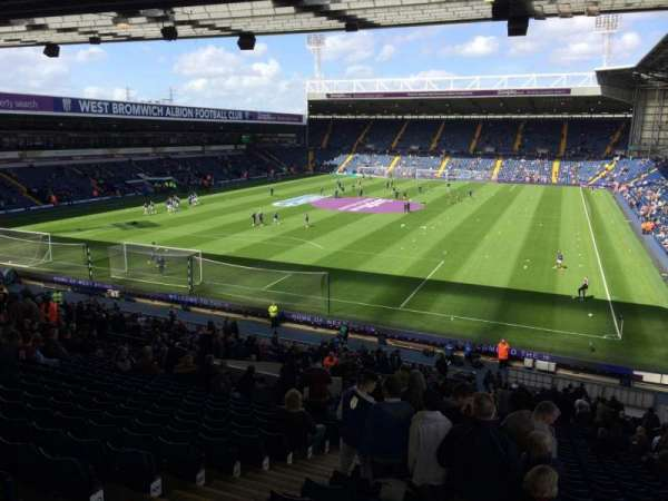 The Hawthorns, section: A1, row: TT, seat: 11