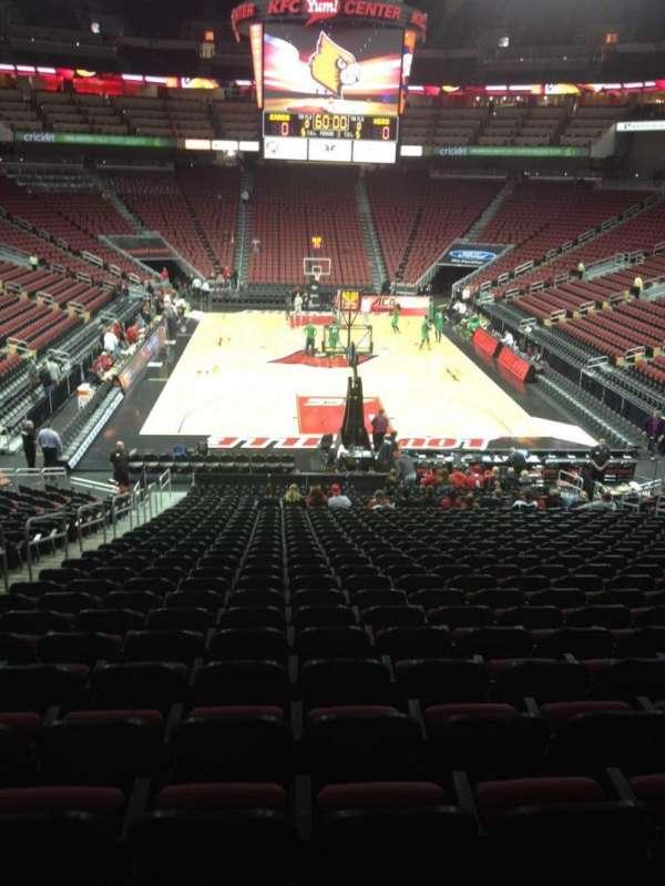 KFC Yum! Center, section: 111, row: DD, seat: 16