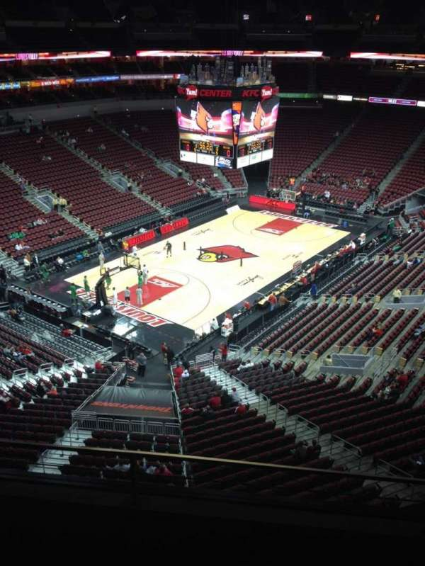 KFC Yum! Center, section: 327, row: C, seat: 10