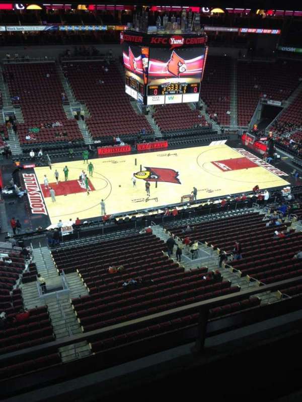 KFC Yum! Center, section: 324, row: B, seat: 20