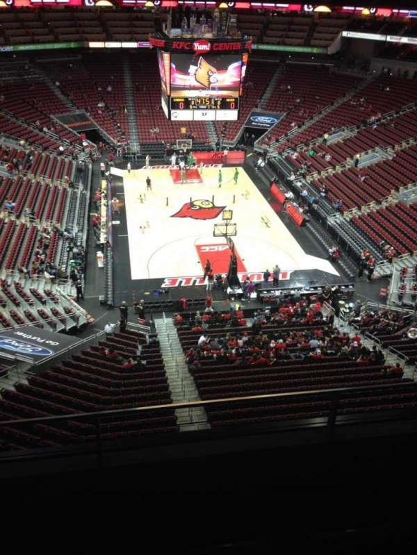 KFC Yum! Center, section: 316, row: C, seat: 15