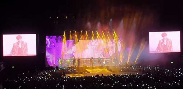 SSE Arena, Wembley, section: E3, row: K, seat: 73