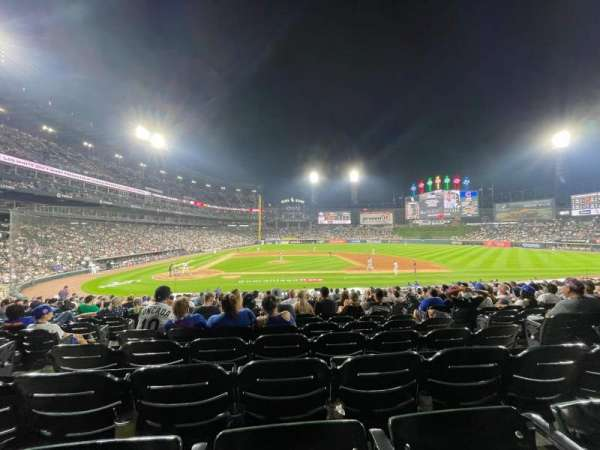 Guaranteed Rate Field, section: 126, row: 24, seat: 5