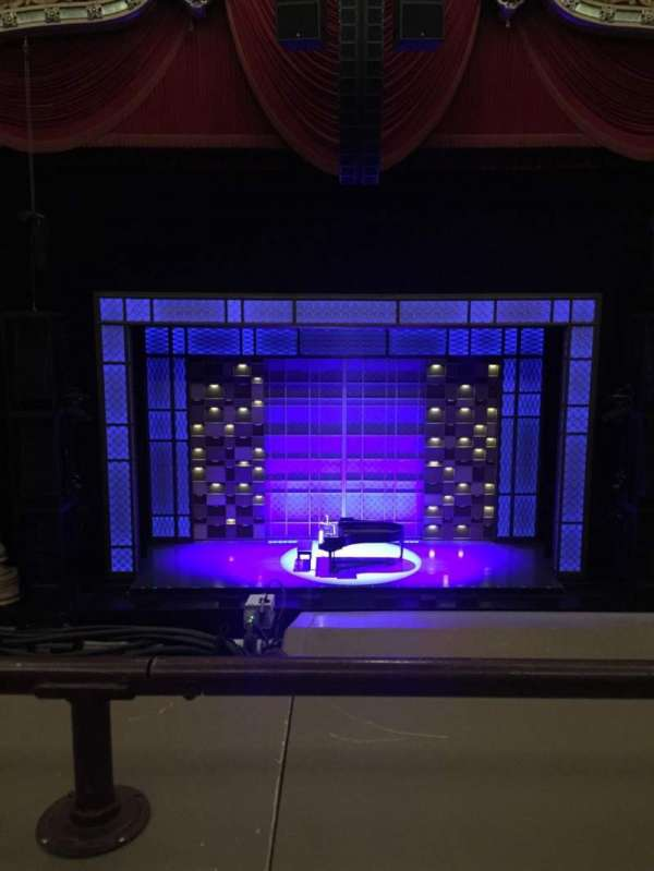 Oriental Theatre, section: Loge C, row: A, seat: 303