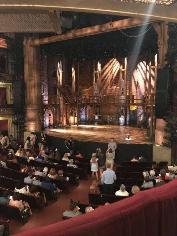 CIBC Theatre, section: Director's Circle, row: A, seat: 2