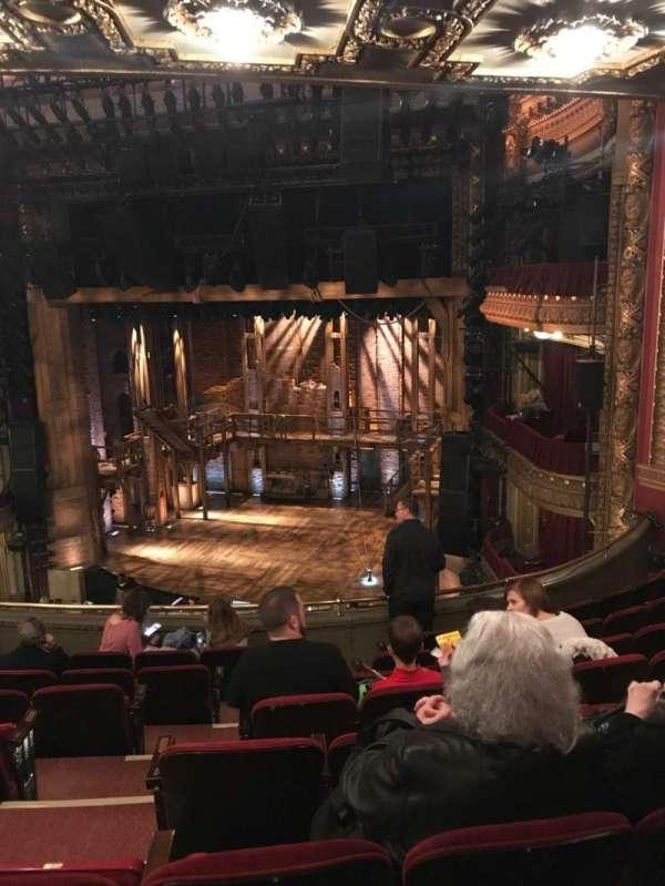 CIBC Theatre, section: MEZZ-R, row: H, seat: 6