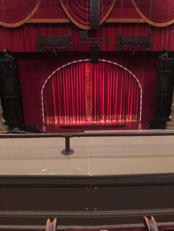 Oriental Theatre, section: LOGE-C, row: B, seat: 304