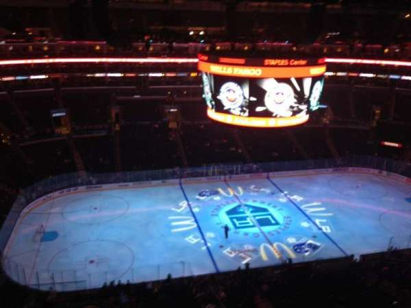 Staples Center, section: 302, row: 6, seat: 22