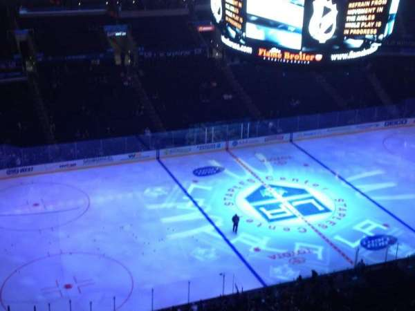 Staples Center, section: 303, row: 10, seat: 20