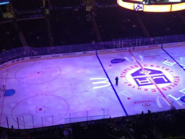 Staples Center, section: 303, row: 10, seat: 1
