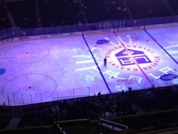Staples Center, section: 303, row: 11, seat: 1