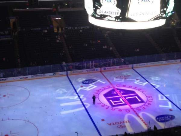 Staples Center, section: 303, row: 6, seat: 1