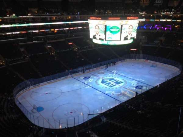 Staples Center, section: 305, row: 4, seat: 1