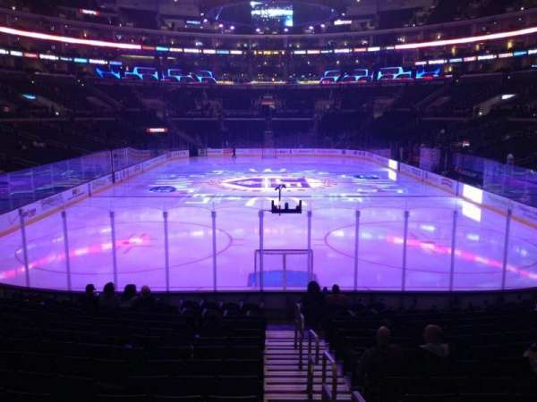 Staples Center, section: 107, row: 16, seat: 1