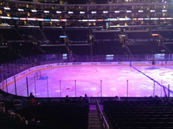 Staples Center, section: 104, row: 5, seat: 1