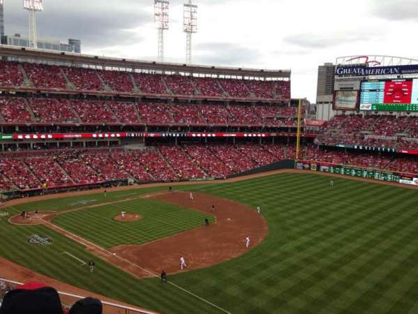 Great American Ball Park, section: 435, row: C, seat: 15