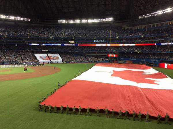 Rogers Centre, section: 209L, row: 1, seat: 102
