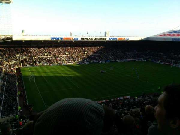 St James' Park, section: exec box, row: millburn s
