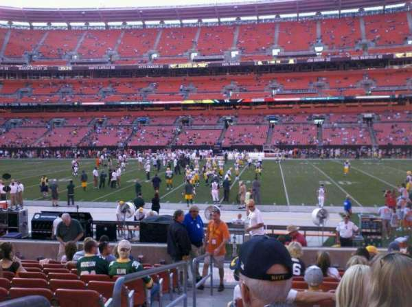 FirstEnergy Stadium, section: 110