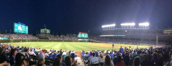 Wrigley Field, section: 7, row: 11, seat: 12