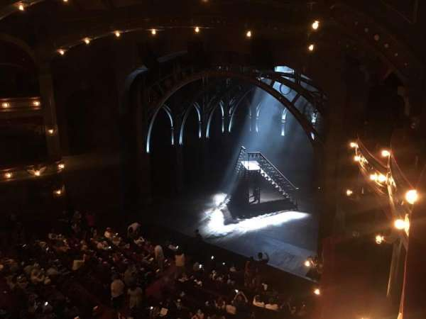 Lyric Theatre, section: Balcony R Box C, row: A, seat: 4