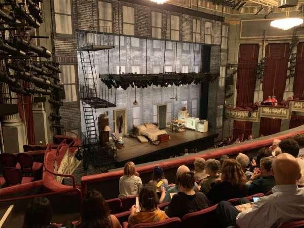 Broadhurst Theatre, section: Mezzanine L, row: F, seat: 25