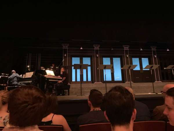 New York City Center, section: Orch, row: CC, seat: 107