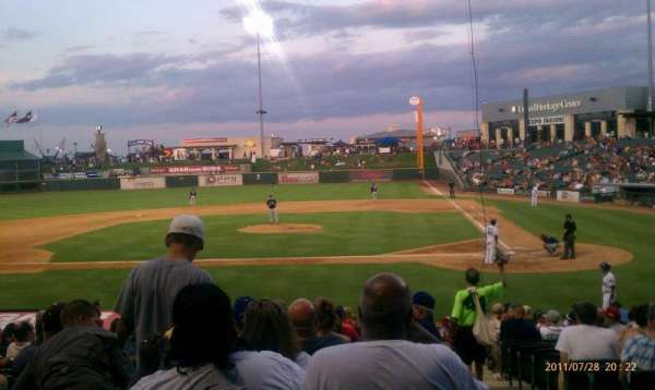 Dell Diamond, section: 117, row: 14, seat: 6