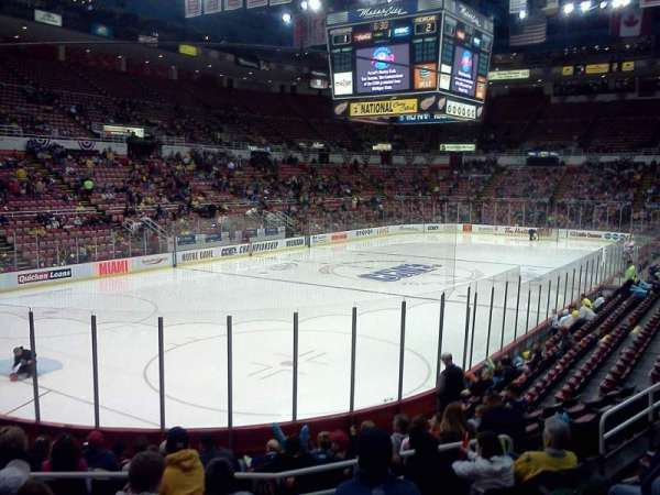 Joe Louis Arena, section: 112, row: 14, seat: 6