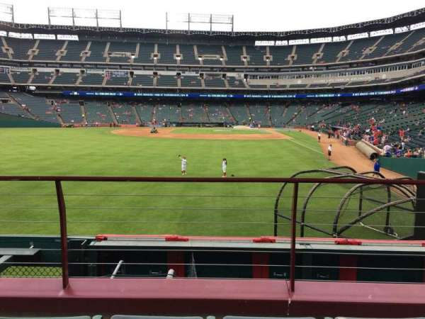 Globe Life Park in Arlington, section: 7, row: 3, seat: 6