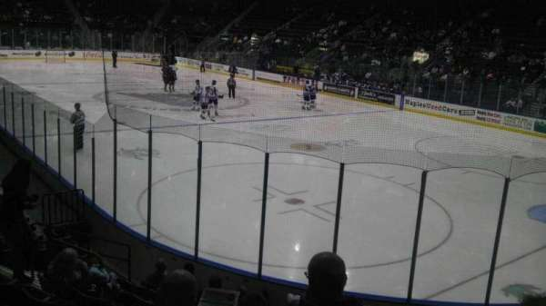 Hertz Arena, section: 108, row: 10, seat: 5