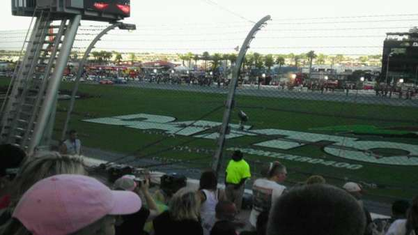 Daytona International Speedway, section: Campbell e, row: 7, seat: 49
