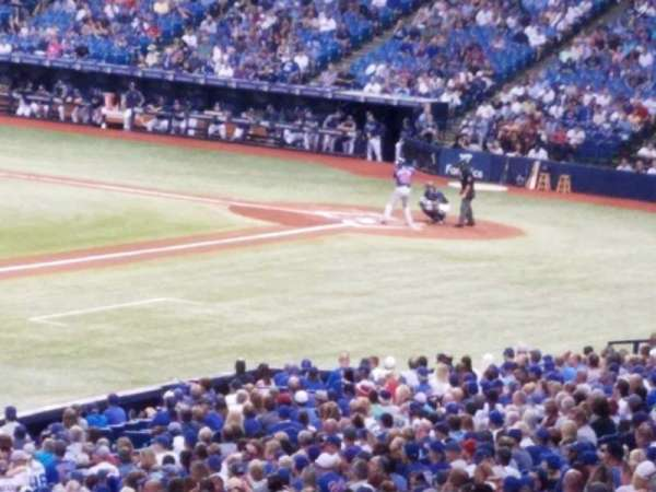 Tropicana Field, section: 131, row: tt, seat: 14