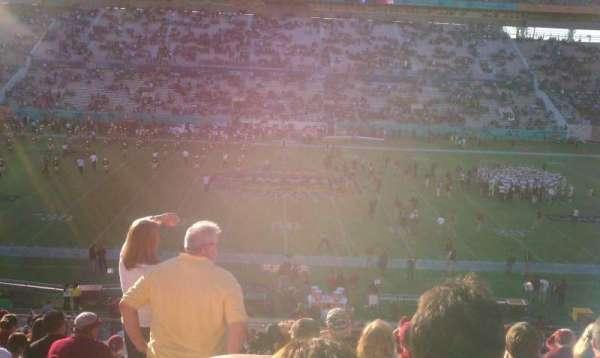 Camping World Stadium, section: 209, row: Q, seat: 17