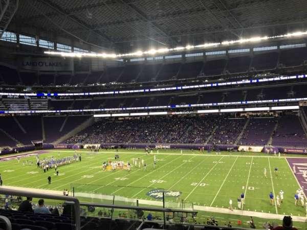 U.S. Bank Stadium, section: 128, row: 9, seat: 22