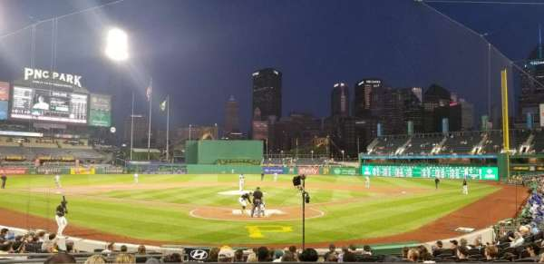PNC Park, section: 117, row: A, seat: 1