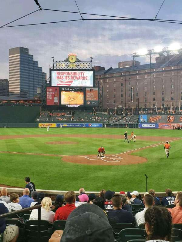Oriole Park at Camden Yards, section: 40, row: 14, seat: 7