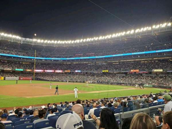 Yankee Stadium, section: 127A, row: 3, seat: 6