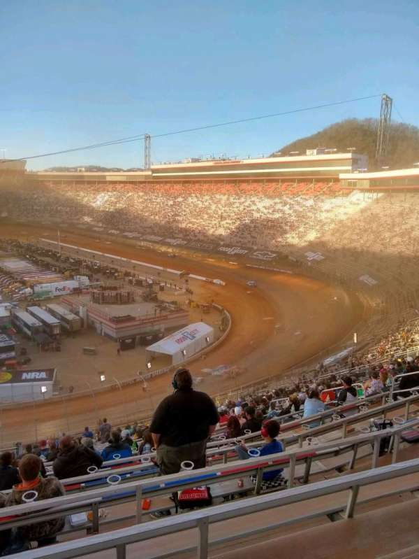 Bristol Motor Speedway, section: waltrip u, row: 52, seat: 18