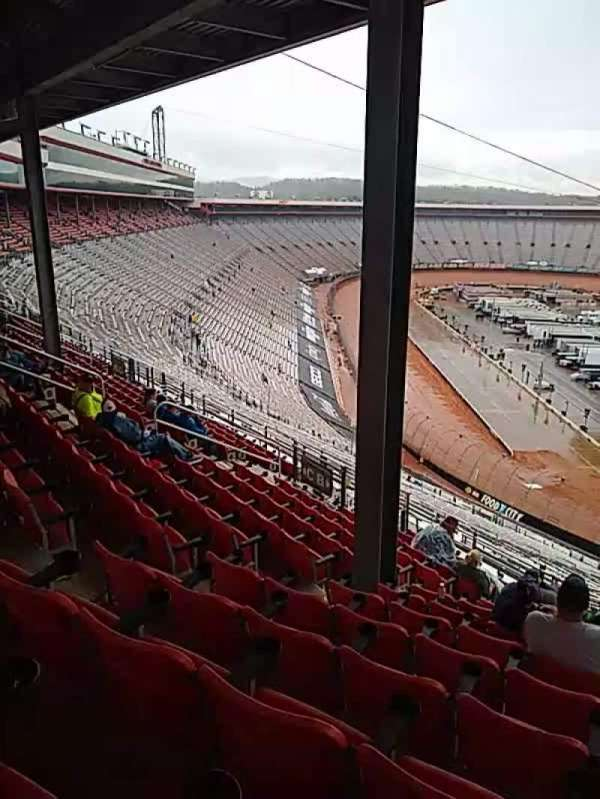 Bristol Motor Speedway, section: pt a, row: 13, seat: 5
