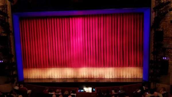 Longacre Theatre, section: Mezzanine C, row: A, seat: 105