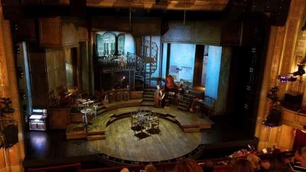 Walter Kerr Theatre, section: Mezzanine C, row: F, seat: 114