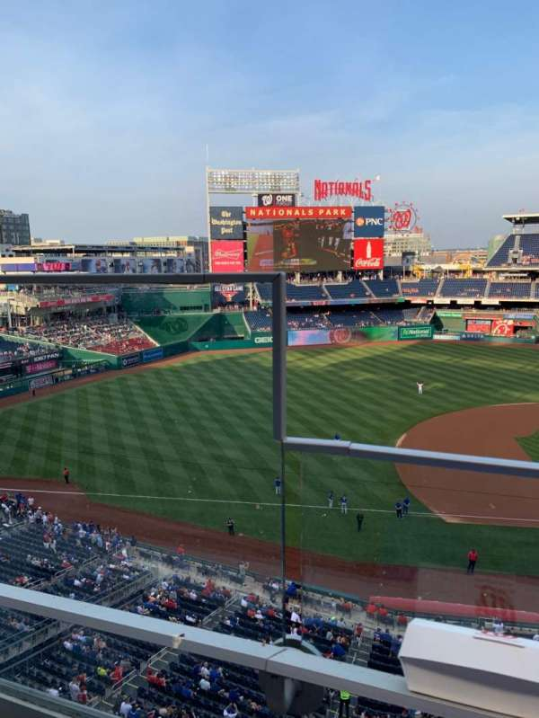 Nationals Park, section: 307, row: A, seat: 25